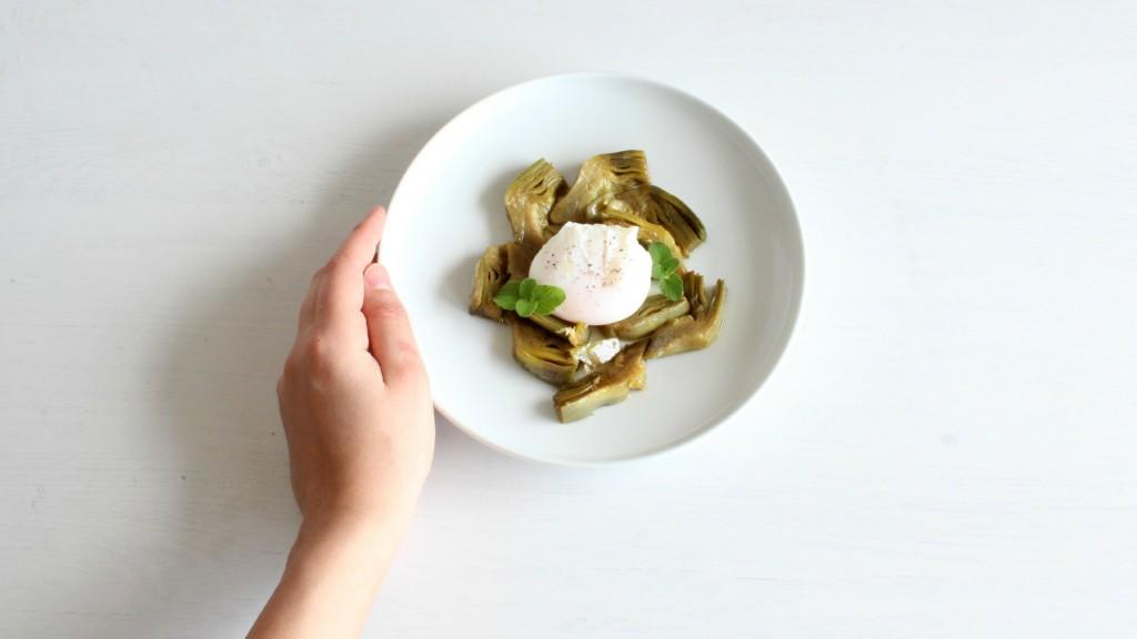 Carciofi e uovo 7