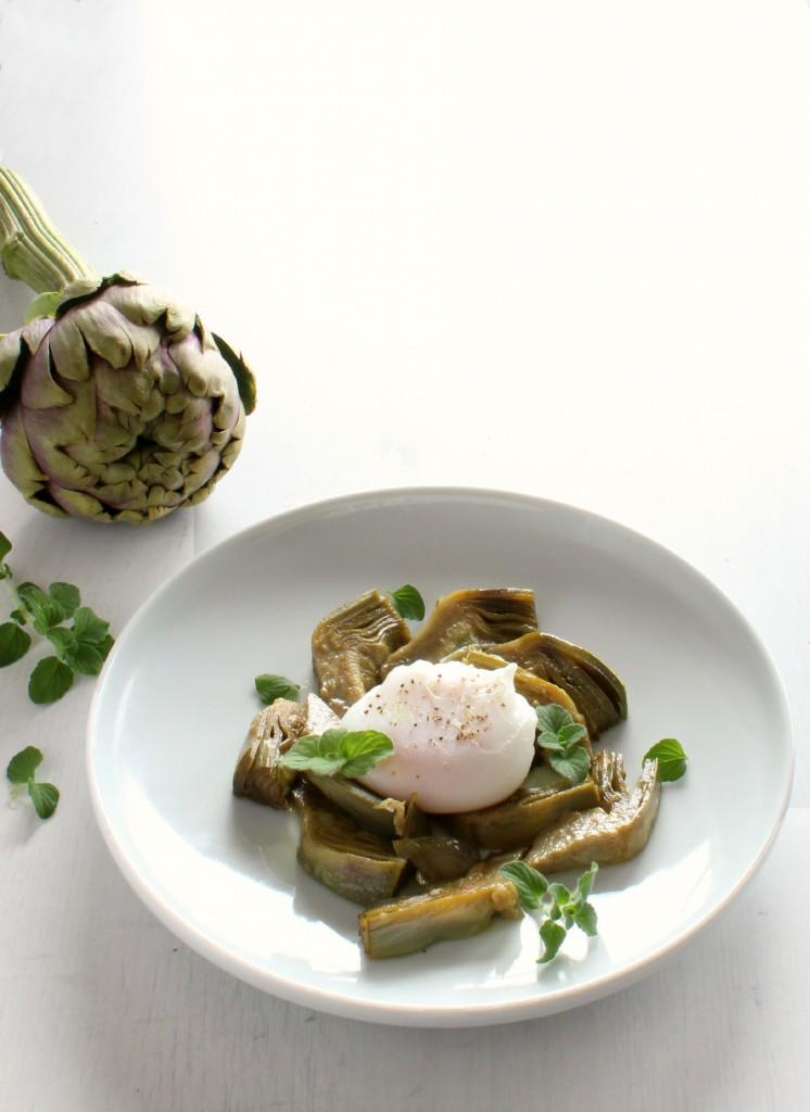 Carciofi e uovo 9