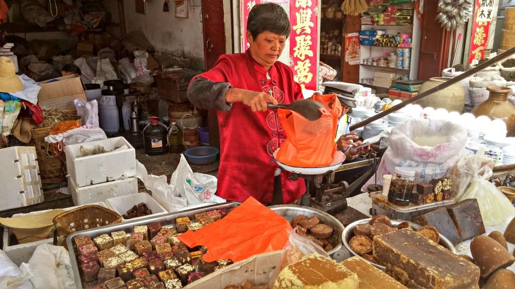 viaggio in Yunnan mercato