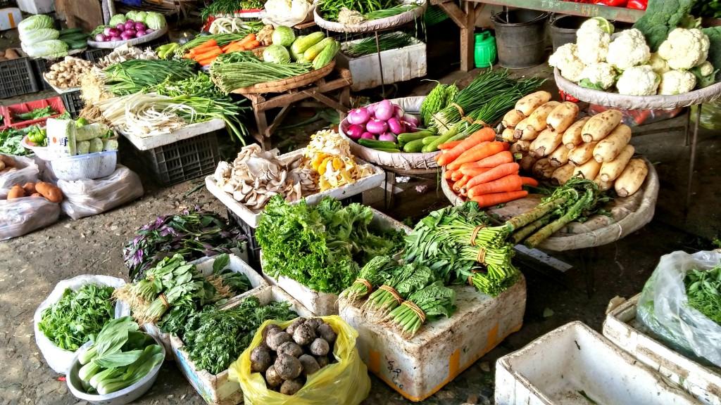 mercato viaggio in Yunnan