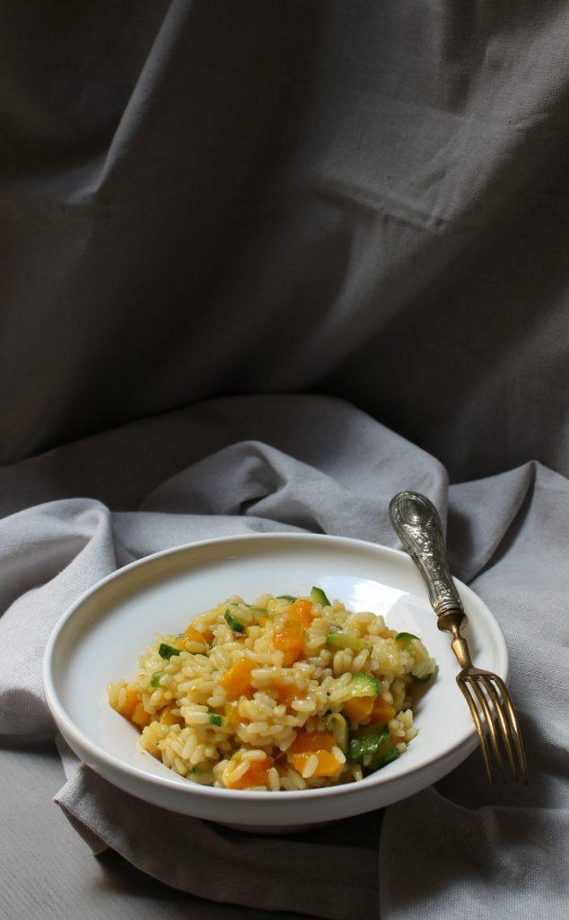 risotto-con-zucca-e-zucchine